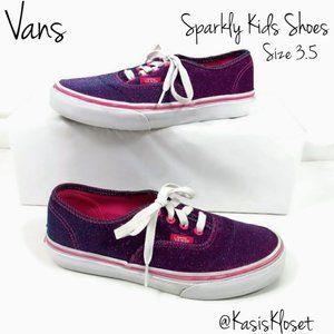 Vans Authentic Color Shift Shoes Kids 3.5 Purple
